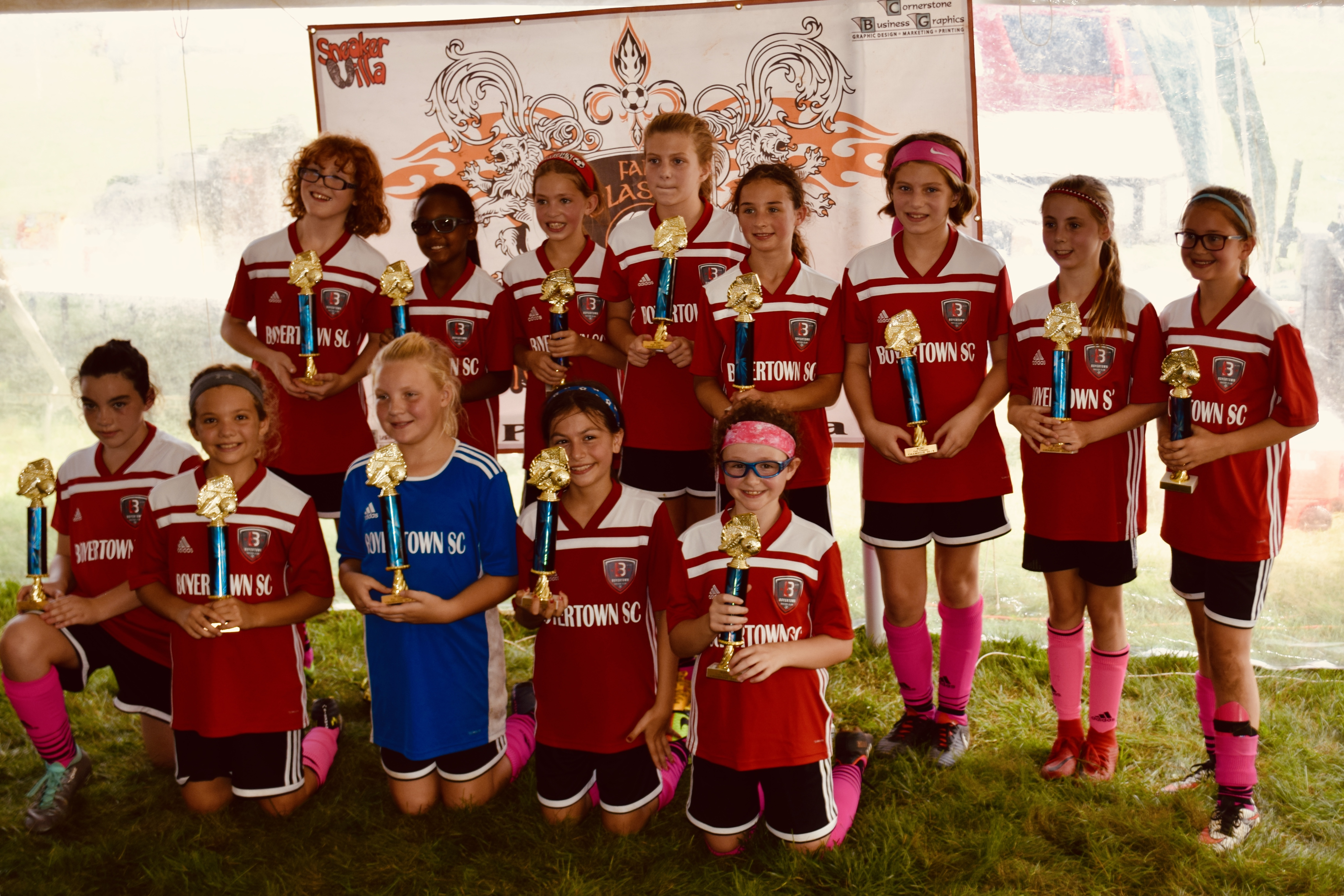U11 Union Girls - Champions at Wilson Fall Classic!